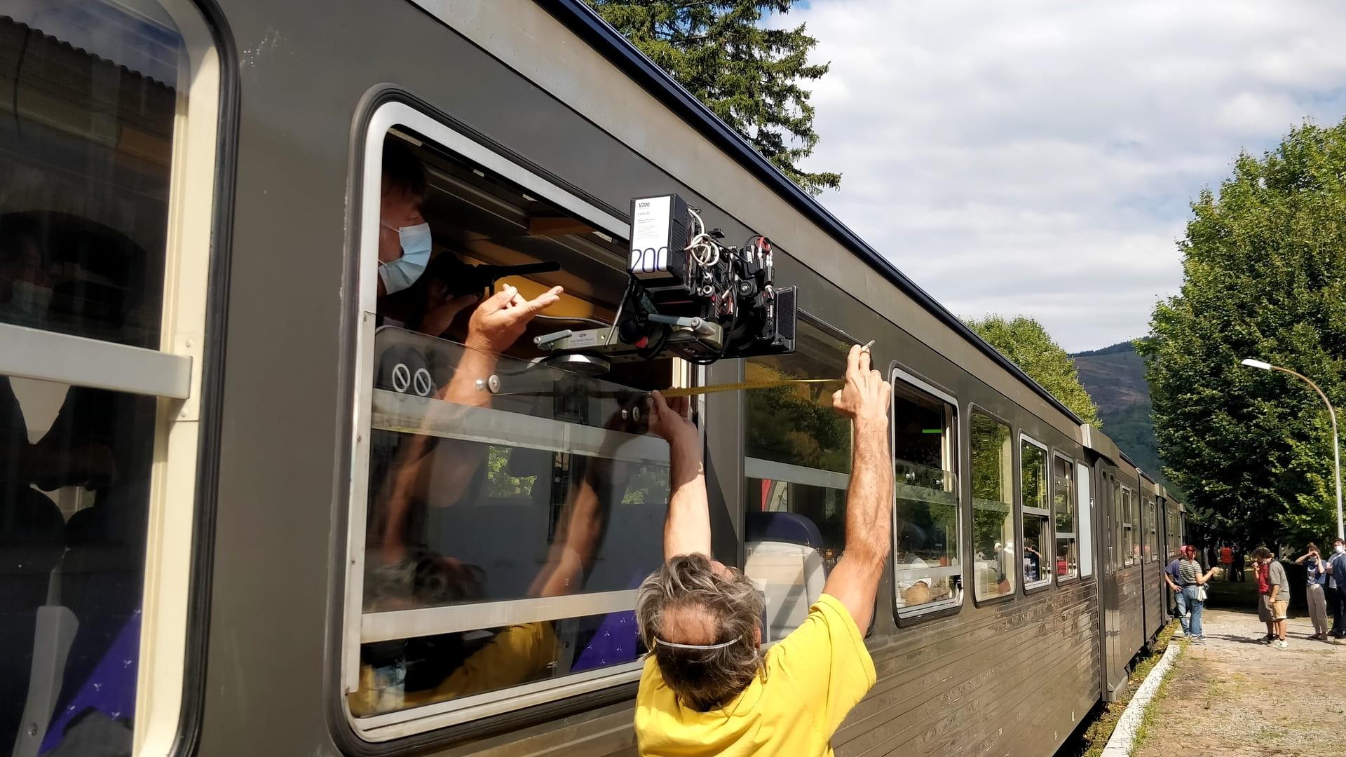 Positionnement caméra prise extérieure