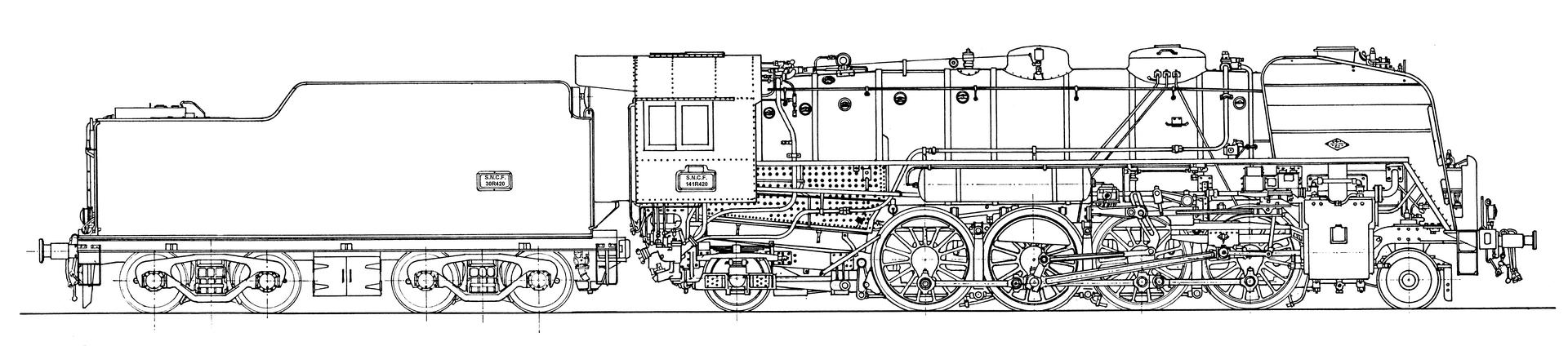 Plan de la 141R420