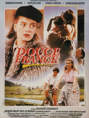 "Affiche film ""Douce France"""
